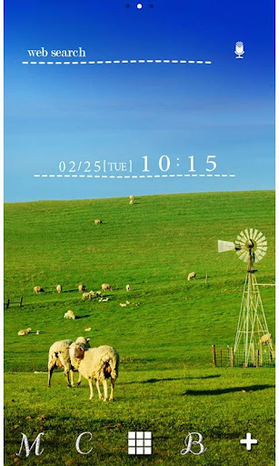 Sheep Wallpaper Blue Sky Farm 1.0 Windows u7528 1