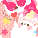 Girlyな動物&スイーツ ライブ壁紙 icon