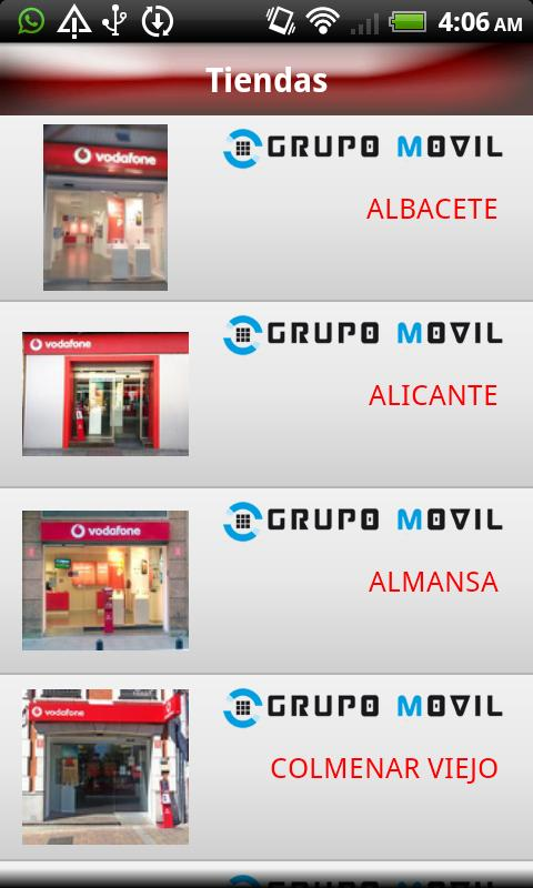 Grupo Móvil - screenshot