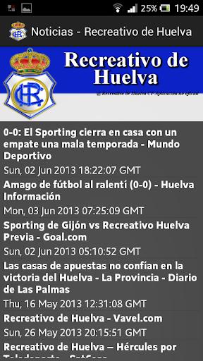 運動必備APP下載 Recreativo de Huelva 好玩app不花錢 綠色工廠好玩App