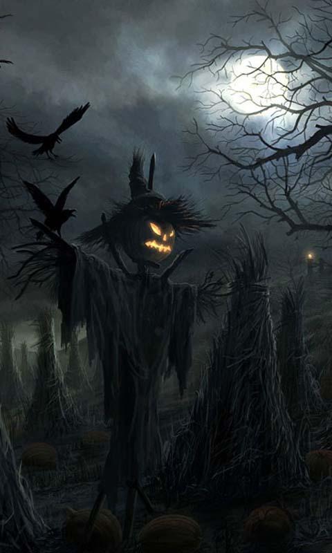 Halloween Free Live Wallpaper Screenshot