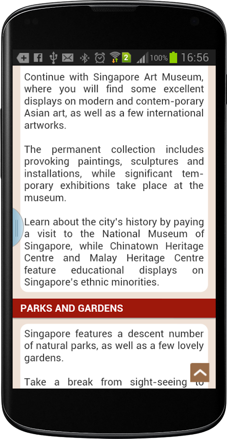 Singapore Travel Guide - screenshot