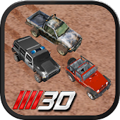 3D Jeep Racer Offroad Racing+