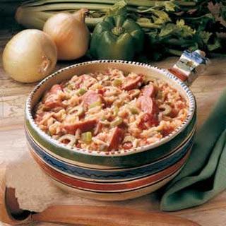 Spanish Sausage Supper