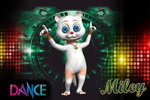 Screenshot of Dancing Cat : Miley