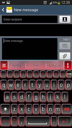 一.我. 键入黑色红色א|玩個人化App免費|玩APPs