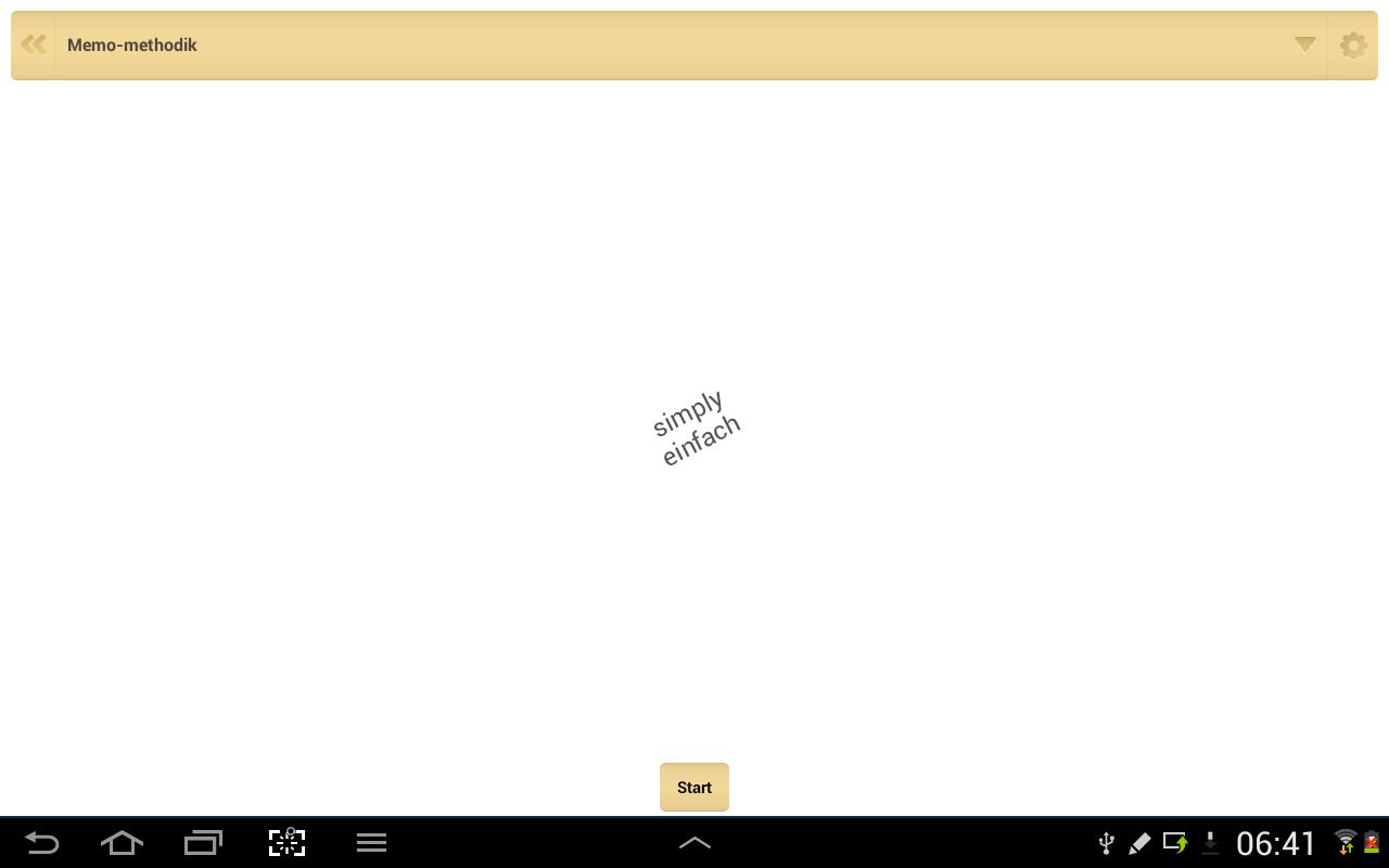 QuickTeacher Englisch- screenshot