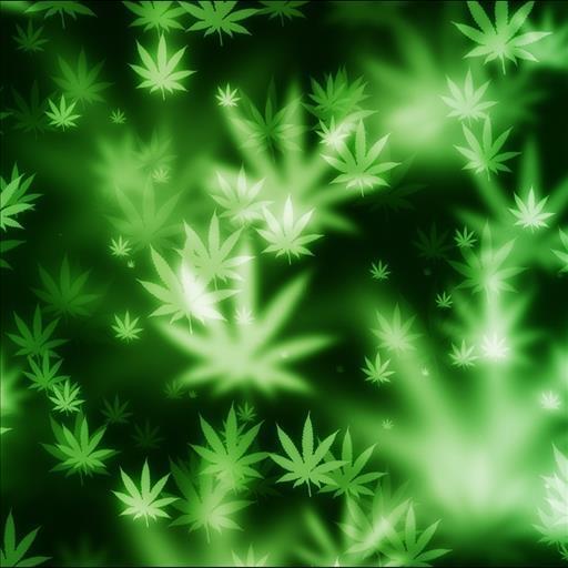 Weed Leaf iPhone Wallpaper
