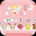 粉紅色的愛情免費動態壁紙 icon