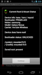 Android Root Toolkit - screenshot thumbnail