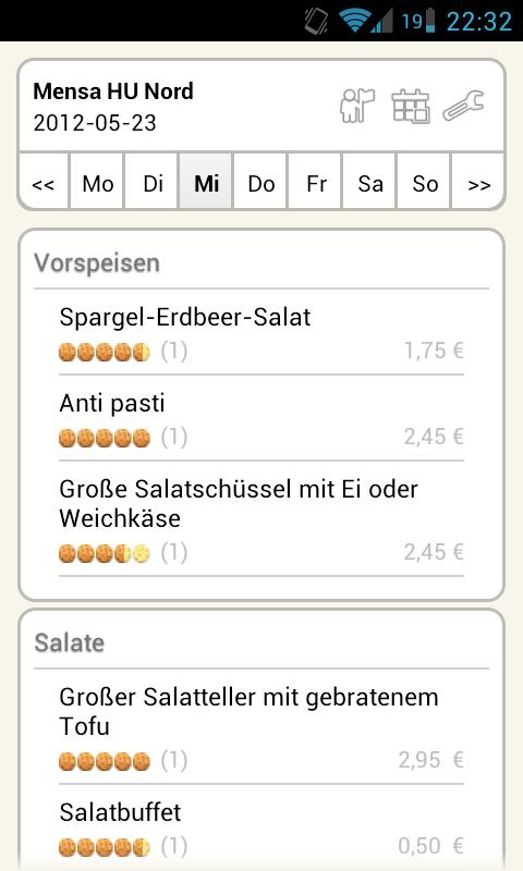 Mensa Berlin- screenshot