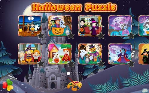 Halloween Family Games: Puzzle for Kids & Toddlers - Android Apps ...