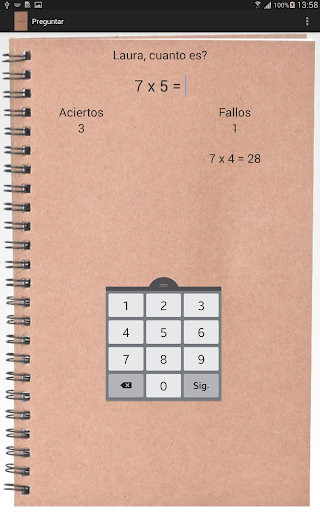 玩教育App|Tablas de multiplicar免費|APP試玩