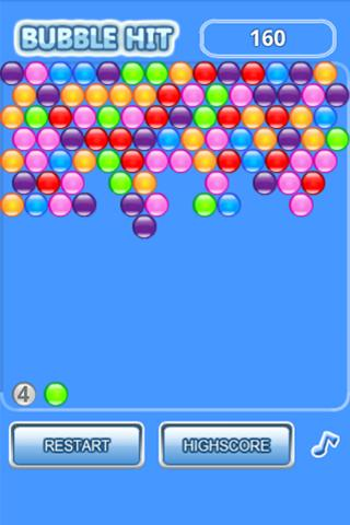 Bubble Hit - screenshot