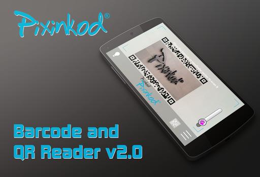 Pixinkod and QR Code Reader