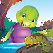 Purple Turtle: Swimming Lesson