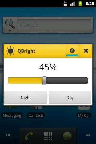 QBright- screenshot