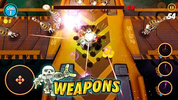 Screenshot of Shooting Pang (RPG)
