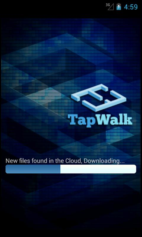 TapWalk - screenshot