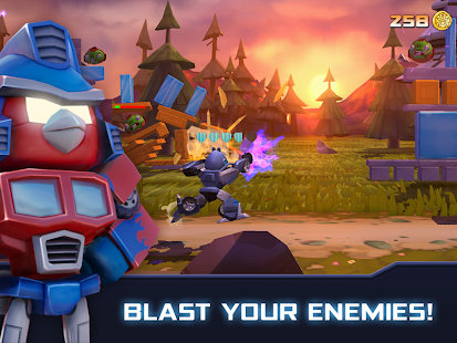 Angry Birds Transformers - screenshot thumbnail