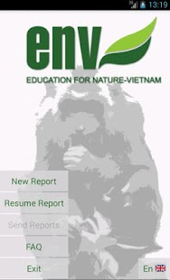 ENV - Report Wildlife Crime- screenshot thumbnail