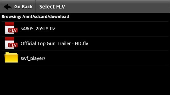 FLV Video Player - screenshot thumbnail