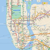 Subway Map: NYC -- No Ads