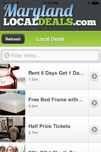Maryland Local Deals screenshot