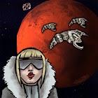 Mars Defender space adventure icon