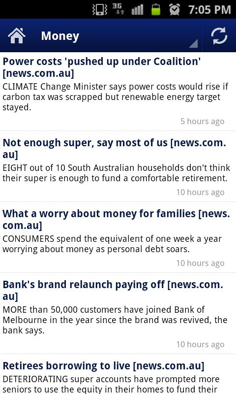 Australian Finance News - screenshot
