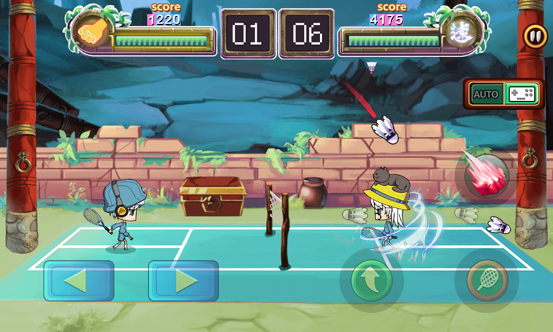 Badminton Star- screenshot