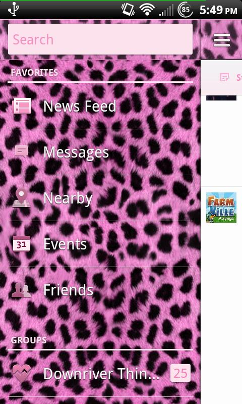 Pink Cheetah 2.0 for Facebook- screenshot