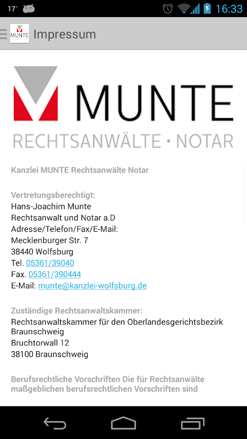 MUNTE- screenshot