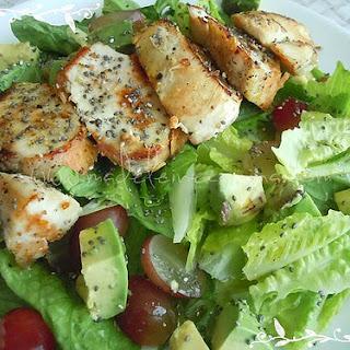 Chalia Salad With Chicken.