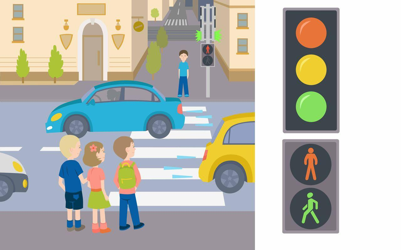 Learn traffic rules kids game android apps on google play