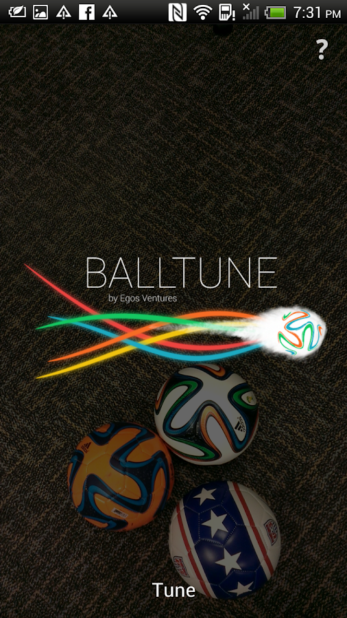 BallTune- screenshot