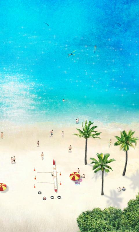 Beach Time LiveWallpaper Free - screenshot