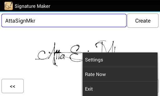 署名メーカー