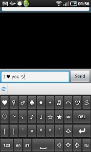 Symbols&Emoji Keyboard Lite - screenshot thumbnail