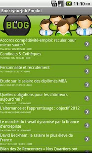 Boostyourjob Emploi - screenshot thumbnail