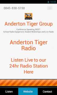 Anderton Tiger Radio- screenshot thumbnail