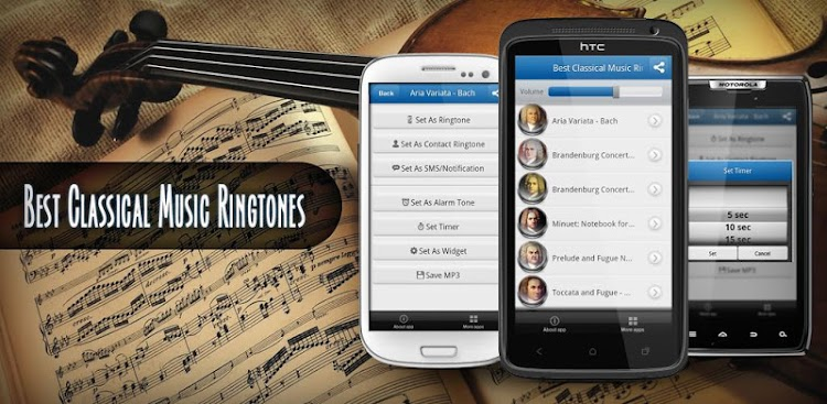 Best Classical Music Ringtones