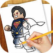 Learn to Draw Lego Superheroes