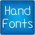 Hand2 fonts for FlipFont® free icon