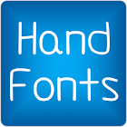 Hand2 fonts for FlipFont free icon