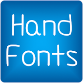 Hand2 fonts for FlipFont® free