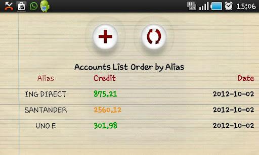 My accounts pro