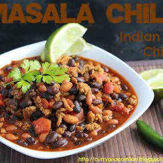 Masala Chili (Indian Spiced Chili).