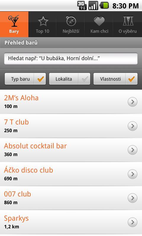 Maurerův Výběr Grand Bar - screenshot