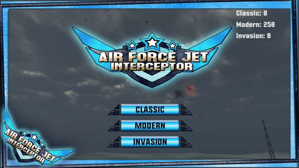 Air Force Jet Interceptor- screenshot